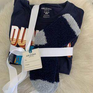 Arizona Boys Long Sleeve Pajama Set Sz. M 10-12